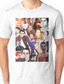 Dylan O'bae (O'brien) fangirl tumblr edit collage Unisex T-Shirt