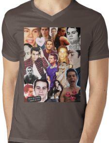 Dylan O'bae (O'brien) fangirl tumblr edit collage Mens V-Neck T-Shirt