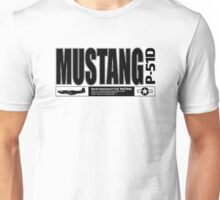 Mustang Fighter Unisex T-Shirt