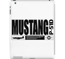 Mustang Fighter iPad Case/Skin
