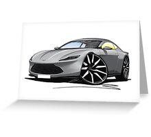 Aston Martin DB10 Greeting Card