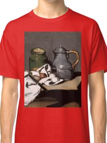 1869 - Paul Cezanne - Still life with kettle Classic T-Shirt