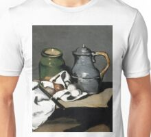 1869 - Paul Cezanne - Still life with kettle Unisex T-Shirt