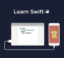 Learn How to Swift  Kids Tee