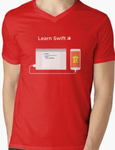 Learn How to Swift  Mens V-Neck T-Shirt