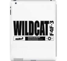 Wildcat Navy Fighter iPad Case/Skin