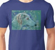 Saluki Dog Portrait Painting Unisex T-Shirt