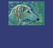 Saluki Dog Portrait Painting Unisex T-Shirt