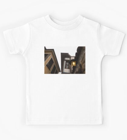Old-Fashioned Wall Sconce and Revival Houses Kids Tee