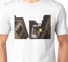 Old-Fashioned Wall Sconce and Revival Houses Unisex T-Shirt