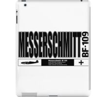 Messerschmitt Fighter iPad Case/Skin