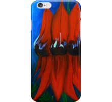 Sturt's Desert Pea iPhone Case/Skin