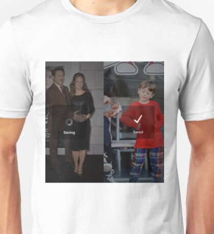 Robert Downey Jr. fangirl edit with exton and susan (team downey) Unisex T-Shirt