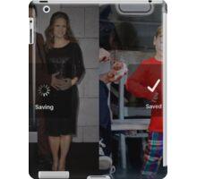 Robert Downey Jr. fangirl edit with exton and susan (team downey) iPad Case/Skin