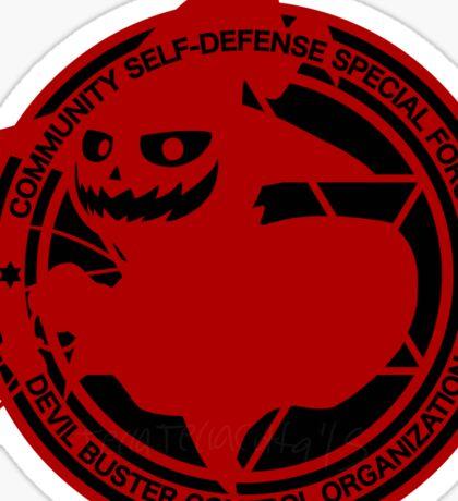 Certified Demon Buster :Pyro Jack Version: Sticker