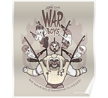 Join the war boys Poster