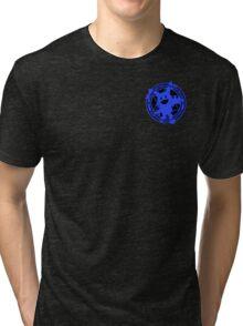 Certified Demon Buster :Jack Frost Version: Tri-blend T-Shirt