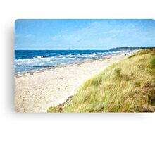 Hiddensee coast Canvas Print