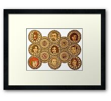 Warehouse 13 Mandala Framed Print
