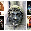 Peebles Old Parish Church Details by ©The Creative  Minds