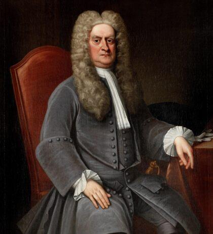 Sir Isaac Newton Sticker