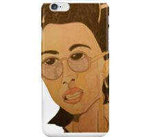 Helena G Wells Caricature iPhone Case/Skin