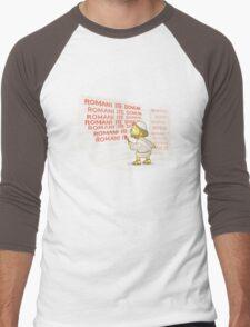 Romans go home! Men's Baseball ¾ T-Shirt