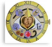 Bering and Wells - Out of Time Metal Print