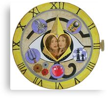 Bering and Wells - Out of Time Canvas Print