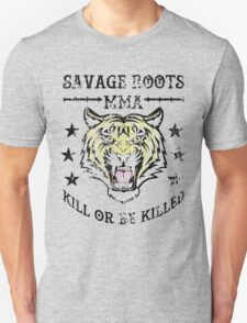 Savage Roots MMA Tiger T-Shirt