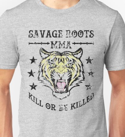 Savage Roots MMA Tiger Unisex T-Shirt