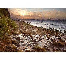 Sunset at Rugen Photographic Print
