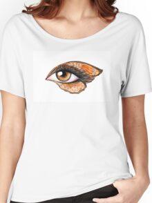 Eye make up   Women's Relaxed Fit T-Shirt