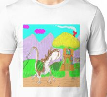 Lulu The Hulu Goes Walking One Fine Day In The Spring Unisex T-Shirt