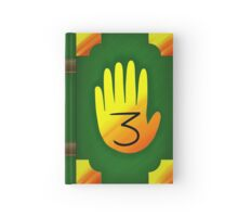 Gravity Falls Inspired Handprint Journal 3, GREEN Hardcover Journal