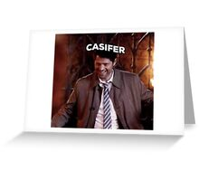 Supernatural- Casifer Greeting Card