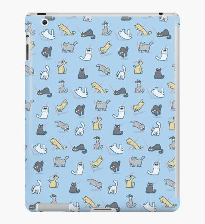 Cats vs. Laserpointers iPad Case/Skin