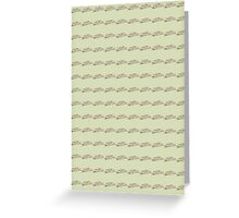 Fried Green Tomatoes Pattern Greeting Card