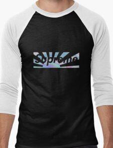 Holagraphic Sunset (HD) Men's Baseball ¾ T-Shirt