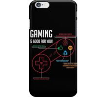 Gaming is Good for You! iPhone Case/Skin