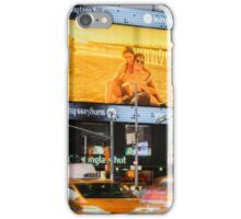 Taxis In Times Square iPhone Case/Skin