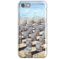 Strandkörbe iPhone Case/Skin