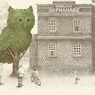 The Night Gardener - Owl Tree by Eric Fan