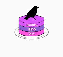 Funny Birthday Gift Bird Birds Cake Present Wordplay Trash T-Shirt
