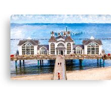 Sellin pier Canvas Print
