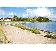 Monchgut peninsula Ruegen Photographic Print