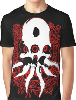 Alien Skull Graphic T-Shirt