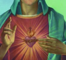 Sacred heart of Elvis Sticker