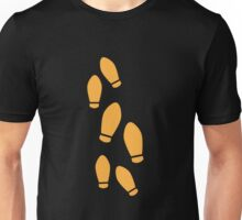 Orange Dance Steps Unisex T-Shirt