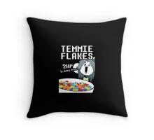 Temmie Flakes Throw Pillow